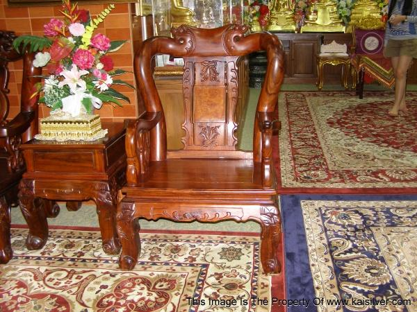 antique wood chair, carved antique furniture