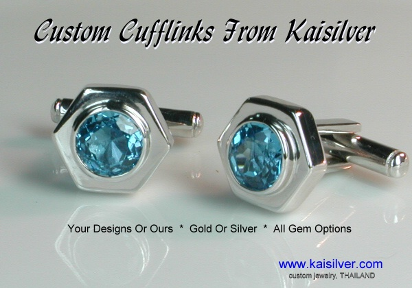 cuff links made to order